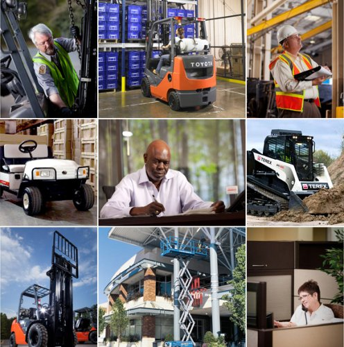 Forklifts, Utility Vehicles