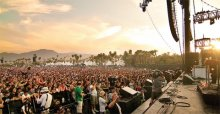 More than 100,000 visitors enjoy the Coachella Music & Arts Festival at Empire Polo Grounds in Indio.