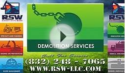 Houston Demolition Services | Residential, Commercial